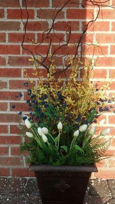 Spring planter by Demeter  Designs LLC