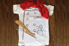 Page 3 - 10 DIY Costume Ideas for Baby's First Halloween - ParentMap holiday, diy costumes, halloween costume ideas, diy halloween costumes, baby halloween costumes, babies clothes, halloweencostum, kid, chef costum