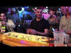 The worlds largest Italian beef sandwich.  www.Italianbeef.com