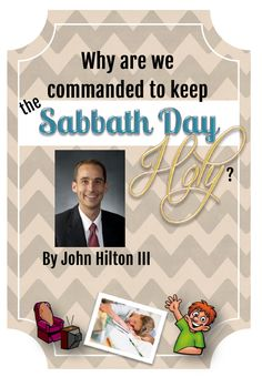 Great article and teaching ideas about keeping the Sabbath Day holy!