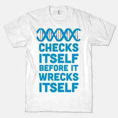 DNA Checks Itself Before It Wrecks Itself #funny #science #smart