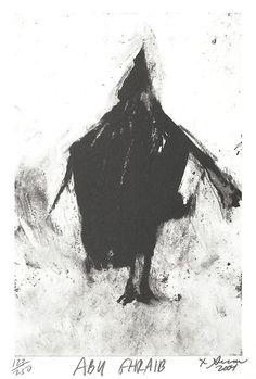 Abu Ghraib, Richard Serra, 2001