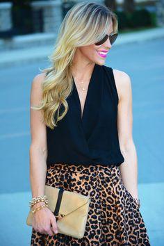 Lola James Giveaway!  #Animal Print #Skirts #Clutches #Tanks