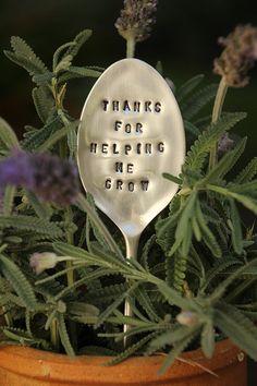 Vintage Silverware Teacher Gift Garden by meDesignsbyMelanie, $12.00