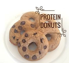 Perfect Fit Donuts! Shared by Thehealthhunt. 1/2 cup + 3 tbsp of oat flour, 2 tbsp vanilla Perfect Fit Protein, 1/2 tsp baking powder, 3 tbsp egg whites, 2 tbsp maple syrup, 2 tbsp unsweetened apple sauce, 1/2 cup unsweetened vanilla almond milk, 1 tbsp carob chips. Bake in the oven at 350 degrees for 30-40 minutes or until toothpick comes out clean. Enjoy!