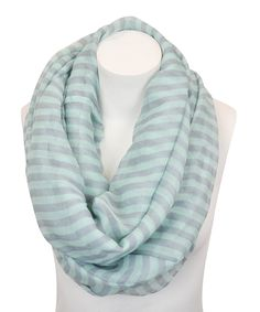 light blue, infinity scarfs, leto collect, scarves, stripes, gray stripe, stripe infin, collect light, infin scarf