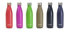 S'Well Insulated Bottles are gorgeous, keep liquids hot or cold, and give back to Water Aid
