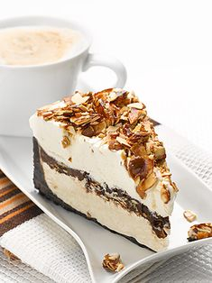 Italian Amaretto Mousse Pie