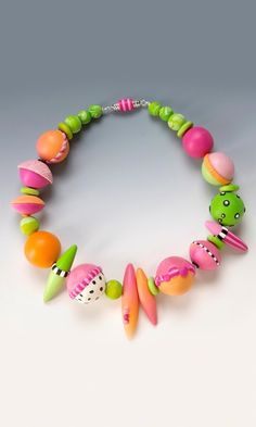 Bracelet with Polymer Clay