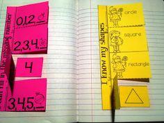 kindergarten math journal activities