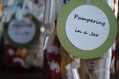 Pampering in a Jar