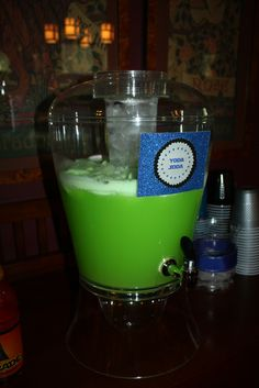 Alien Punch~ green hawaiian punch with 7up