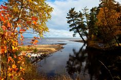 An Off the Beaten Path Fall Color Tour in the Central U.P. #PureMichigan