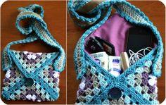 Little Granny Envelope bag envelop bag, crochet crochet bag, crochet round granny squares, envelopes, granni bag, granny square crochet bag, granni envelop, bags