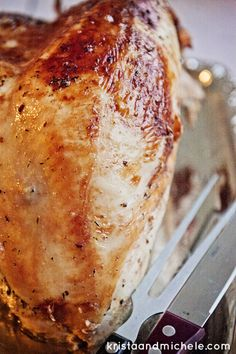 The BEST {and easiest} Turkey You Will Ever Make!!! Seriously. Directions @ kristaandmichele.com