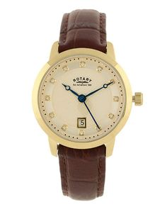 Rotary Women's Leather Watch