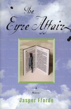 books, jasper fford, jane eyre, thursday, read, favorit book, book series, novel, eyr affair