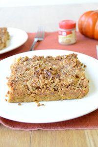 Incredibly Easy Pumpkin Dump Cake | TheBestDessertRecipes.com