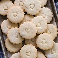 Delicious vanilla flavored shortbread cookies made with only four ingredients! The perfect holiday cookie recipe to share with friends and family or give as a gift. Gluten-free flour can be easily substituted so everyone can enjoy. #cookies #vanillabean #shortbreadcookies