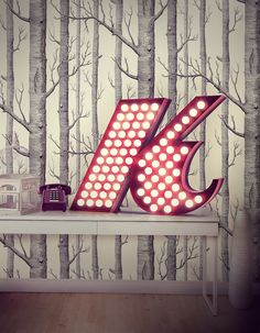 K letter can be used