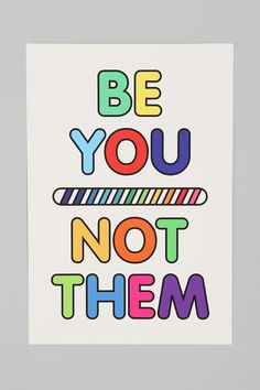 Just be you!    Aline