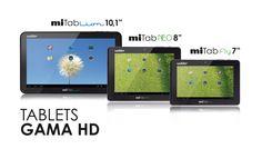 Wolder Tablets · Gama HD