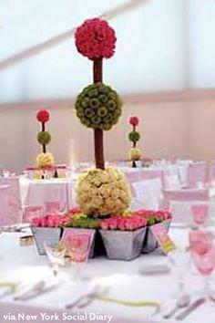 topiary centerpieces