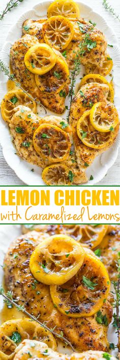 Easy Lemon Chicken w