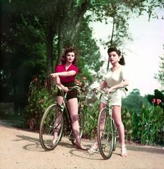 Sisters and actresses, Lisa Gaye and Debra Paget c. 1950's