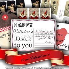 holiday, tags, valentine day, printabl valentin, free font, free printabl, gift idea