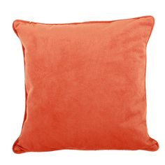 This coral throw pil