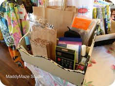 Wrapping & Essentials box