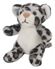 "Itsy Bitsies 4.5"" Snow Leopard at theBIGzoo.com, a toy store that has shipped over 1.2 million items."