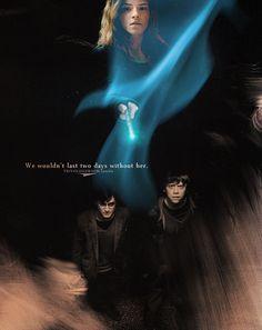 Harry, Ron -Hermione