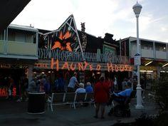 The Haunted House. Ocean City, MD Boardwalk