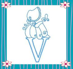 RWSunbonnetAlpha bordado livr, letra, kiwi, sun bonnet, sunbonnet sue, abecedario, pergamano alphabet, machine embroidery designs, embroideri