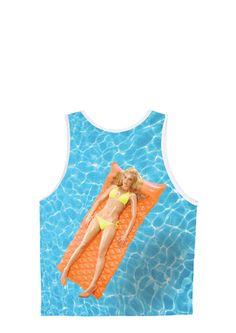 Swim Fan Tank ( PenthouseStore.com - Online Shopping for Lingerie, Shoes, Apparel & more