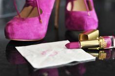 camo meets couture: fuchsia