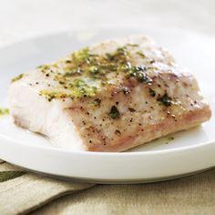 Mediterranean Grilled Swordfish | Sweetly Southern | Pinterest