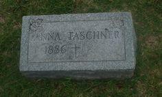 So Many Ancestors!: Tombstone Tuesday: Anna (Gersbacher) Taschner #genealogy #familyhistory