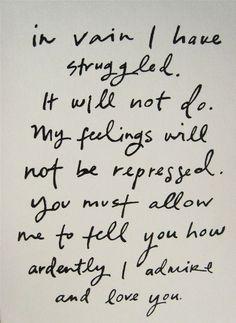 {Mr. Darcy}