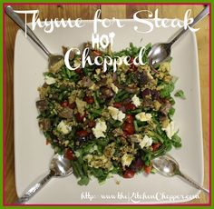 Thyme for Steak Hot chopped/ the Kitchen Chopper
