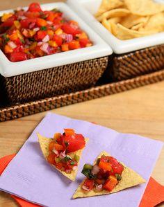 Watermelon Salsa | creative-culinary.com