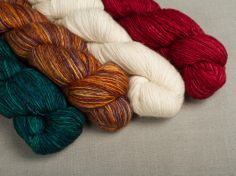 Madelinetosh Tosh Merino Light Yarn - 4 Great Colors!
