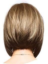 back view of medium bob haircut