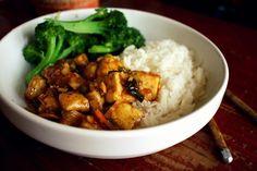 Spicy Ginger-Orange Tofu, a recipe on Food52