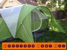 1st famili, famili backyard, backyard campout, american backyard