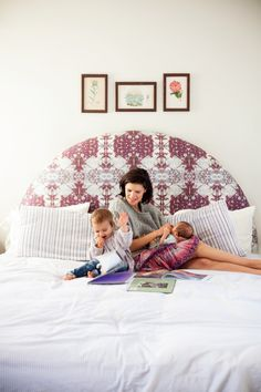 Lawren Howell From Vogue - MOTHER - mothermag.com headboard, mother, bedroom