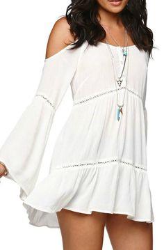 crochet tunic dress