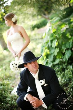 Cowboy hats will definitely be in my wedding!